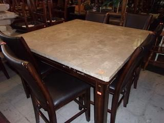 Dining Table Marble Counter Top 15157 Dining Table Marble Top