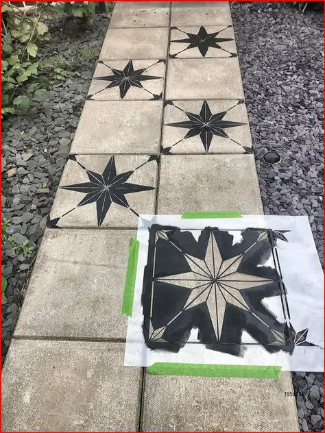 How to makeover a concrete slab patio/path for under £40  Lets Talk...