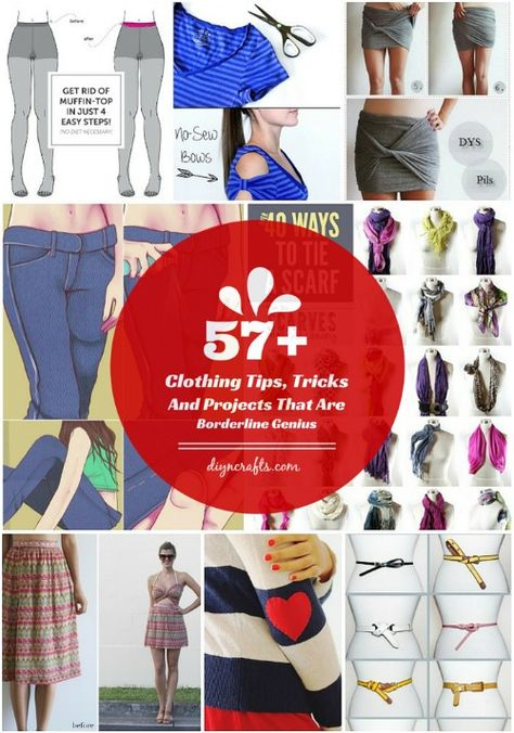 57 Clothing Tips, Tricks And Projects That Are Borderline