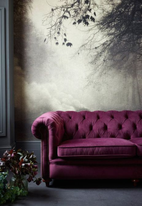 Raspberry, A gorgeous decor colour for anytime of the year! This colour is very popular right now for good reason!
