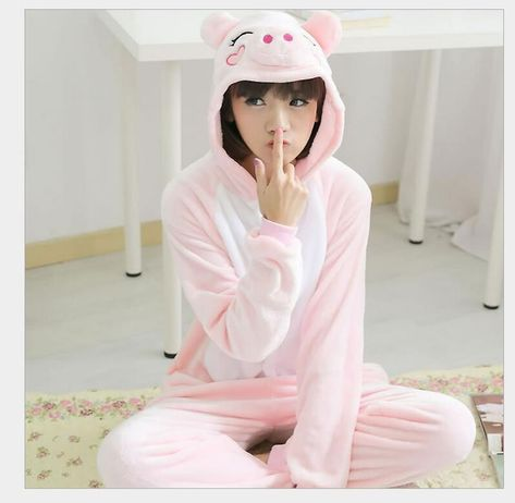 Costume Animal Sleepwear Hoodie Suit Unisex Adult Pajamas Bear Kigurumi Cosplay