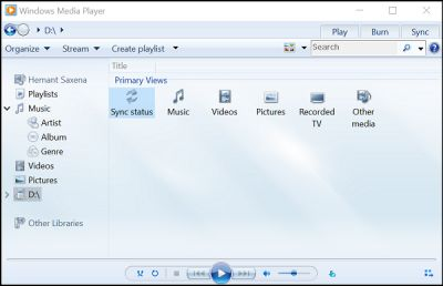 Windows Media Player Media Center To Stop Displaying Metadata