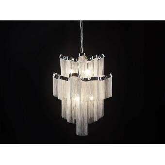 12 Light Luxury Modern Crystal Chandelier Pendant Ceiling Light