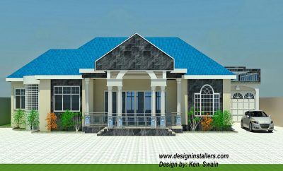 Nice 4 Bedroom House Design In Ghana 14 In Home Design Styles Interior Ideas With 4 Bedroom Four Bedroom House Plans Bungalow House Plans Beautiful House Plans