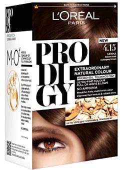 صبغة لوريال باريس برودجي بدون امونيا الالوان و المميزات L Oreal Prodigy Dye Ammonia Free Hair Color At Home Hair Color Permanent Hair Color