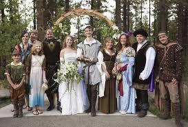 Renaissance and Medieval wedding