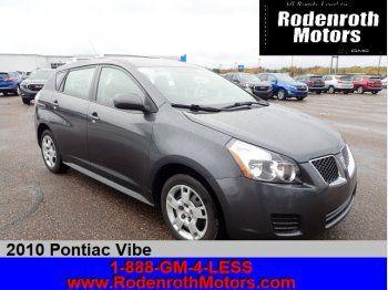 Used 2010 Pontiac Vibe Awd Pontiac Vibe Pontiac Vibes