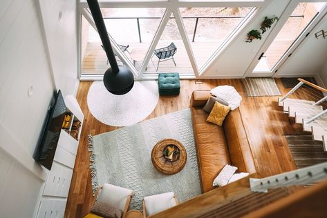 The A-Frame — Luxury Hocking Hills, Ohio Cabins  A-Frame | Dunlap Hollow