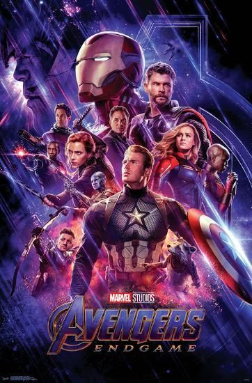Avengers: Endgame - One Sheet – Poster | Canvas Wall Art Print