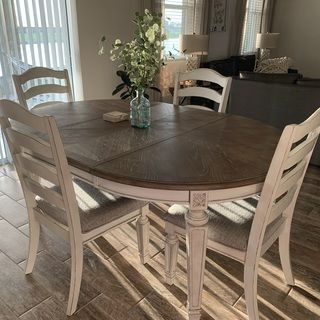 Realyn Dining Room Extension Table In 2020 French Country Dining