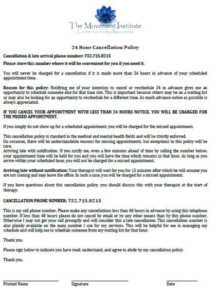 Cancellation Policy Template 30 Free Templates For E Commerce