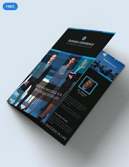 Master Premium Business Bi Fold Brochure Template Graphic Templates Free Brochure Template Bi Fold Brochure Brochure Template