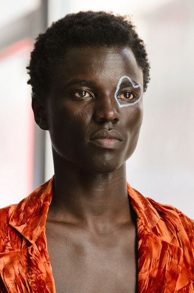 Collina Strada, Fall 2018 - The Most Dazzling Hair and Beauty Details From NYFW Fall 2018 - Photos