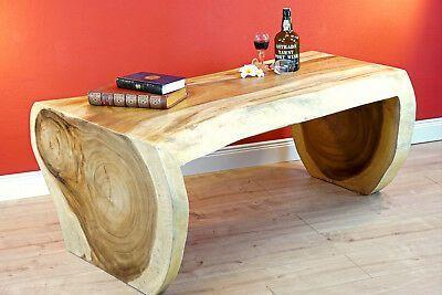 Couchtisch Holz Massiv Baumstamm Wohnzimmertisch Tisch Massivholz Beistelltisch Couchtisch Holz Couchtisch Holz Massiv Wohnzimmertisch