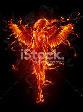 Angel as a new take on a phoenix. @iStock