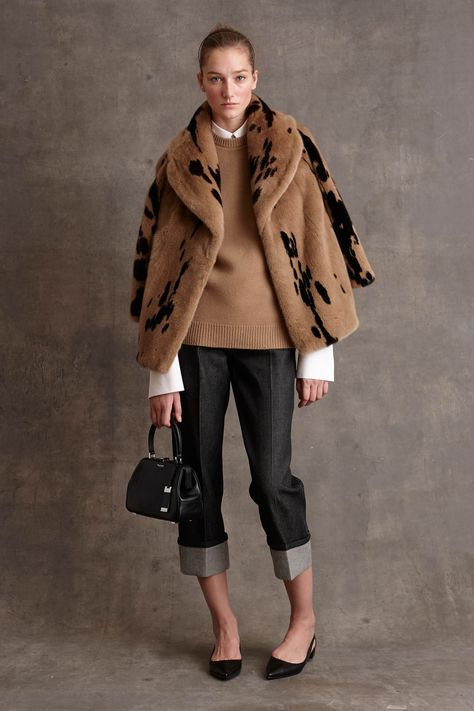 Michael Kors Pre-Fall by muses Baby Jane Holzer, Winona Ryder and Taylor Swift; Michael Kors updated classic staples for his label's pre-fall…