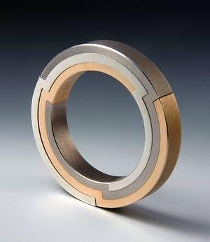 Ring   Daniel Chiquet -sehr interessantes Design vor allem für mich als Goldschmiedin