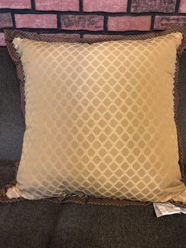Croscill Calice Bedding Decorative Pillow 26 X26 Navy Multi