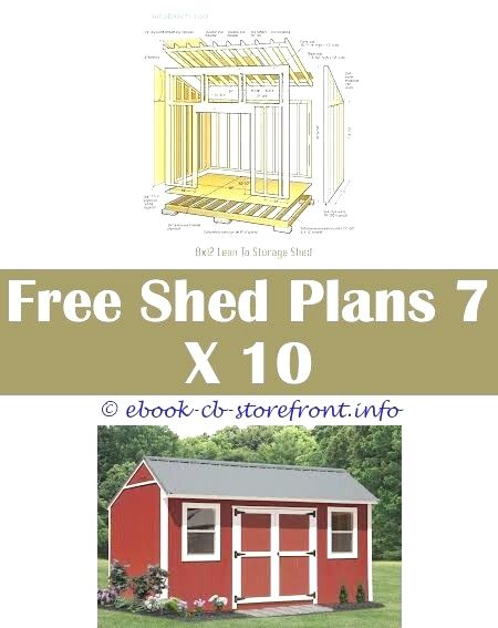 Storage Shed Plans 5 X 11 Shed Plans Simple Shed Shed Building Plans