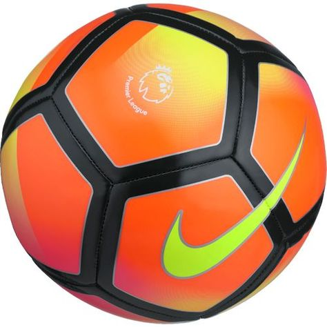 Nike Premier League Pitch Soccer Ball Green Orange Team Sports Soccer Equipment At Academy Sports Soccer Ball Premier League Soccer Soccer