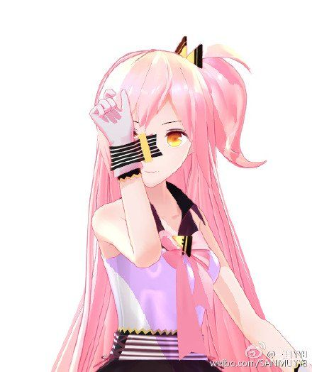 Image Result For Mmd Pink Hair Models