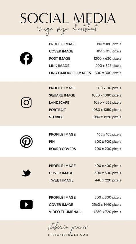 2019 Social Media Image Size Guide - #Guide #Image #manager #Media #Size #Social