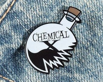 Power Puff Girls Chemical X Enamel Pin