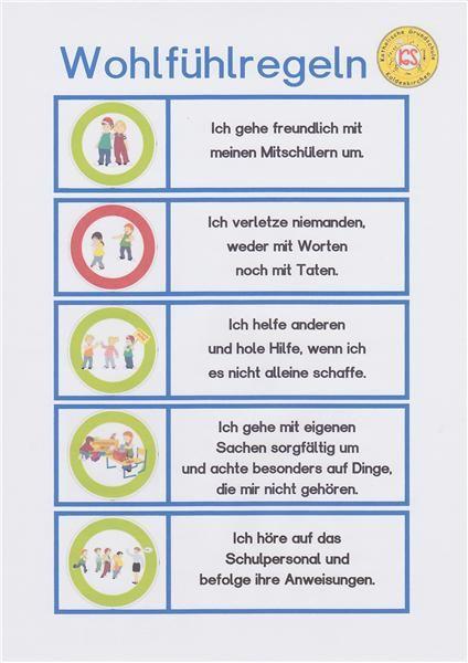 Klassenregeln grundschule bildkarten  108 besten Schule Bilder auf Pinterest | Grundschulen, Lampions ...