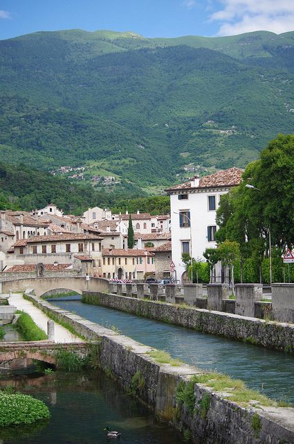 Vittorio Veneto - River Meschio, Treviso, Veneto, Italy