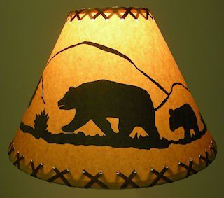 18 Inch Bear Rustic Lamp Shade Click On Photos To View Sizing And Style Options Check Out The Image By Visiting The Link It Is An Affiliate Link To Ama In 2020