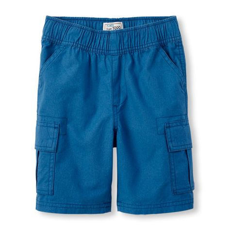 The Childrens Place Little Boys Pull-On Cargo Shorts
