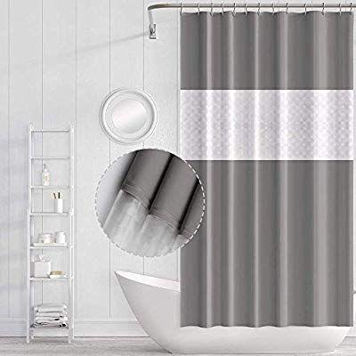 Funria Shower Curtain Bathroom Curtains Waterproof Mildew