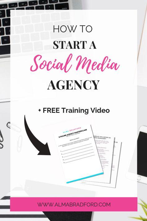 How to Start a Social Media Agency