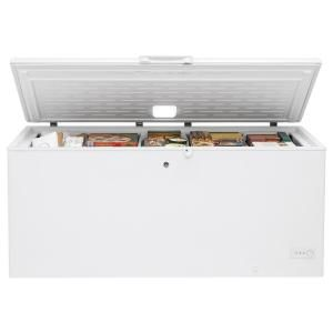 Ge 21 7 Cu Ft Chest Freezer In White Fcm22dlww The Home Depot