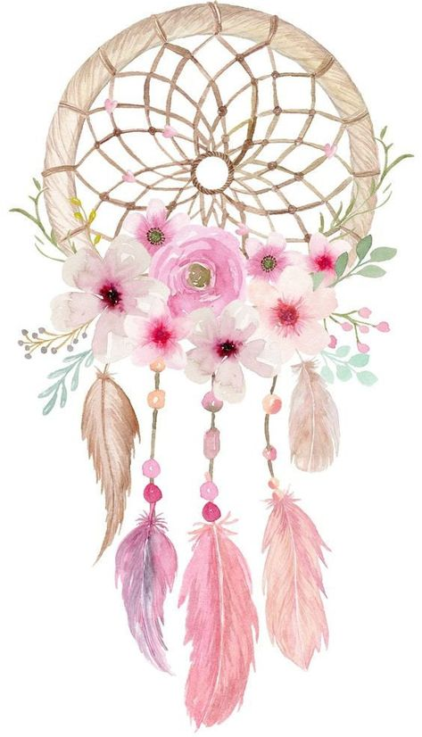 Dream catcher Waterslide // Dream catcher image // Tribal Waterslide // Tumbler sticker // Dream catcher sticker by TheCottonPickinShop on Etsy