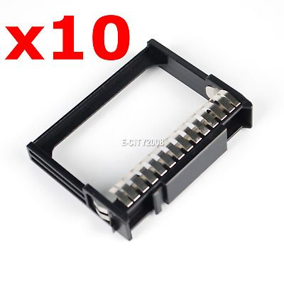 Details About 10pcs Hard Drive Blank Caddy Filler 2 5 Sff For Hp