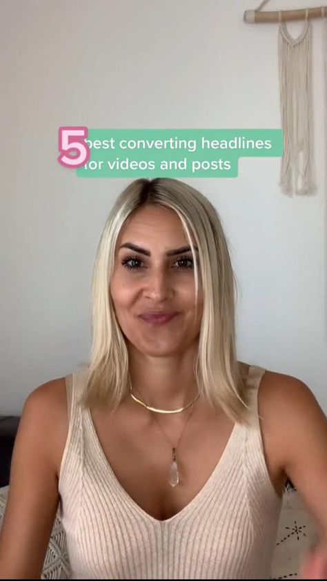 5 Top Converting Headlines For Videos & Posts!