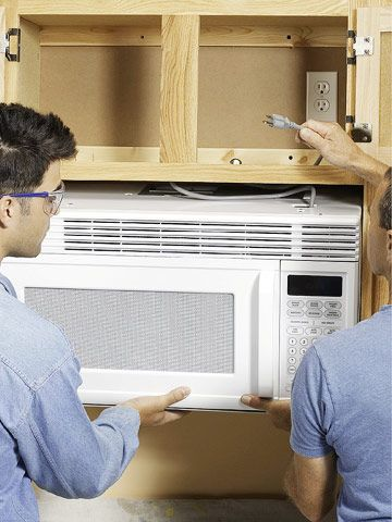 How To Install An Over The Range Microwave Over The Range