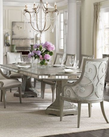 Modern Glam Decor Glamorous Decorating Ideas Dining Room Sets