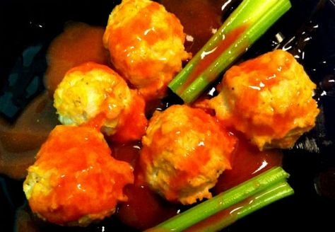 Leanest Buffalo Ranch Turkey Meatballs Of All Time