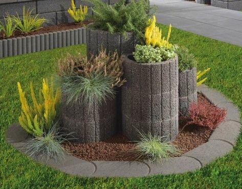 Bildergebnis Fur Pflanzsteine Pflanzstein Gartengestaltung Ideen Gartengestaltung