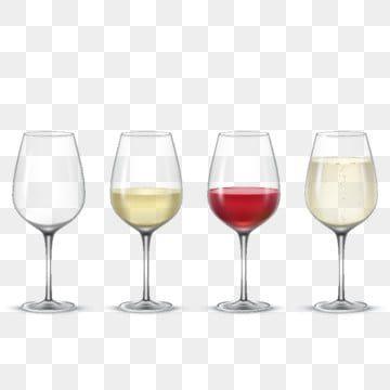 Set Transparent Vector Wine Glasses Glass Clipart Wine Glass Png And Vector With Transparent Background For Free Download Wine Images Wine Cocktails Vector