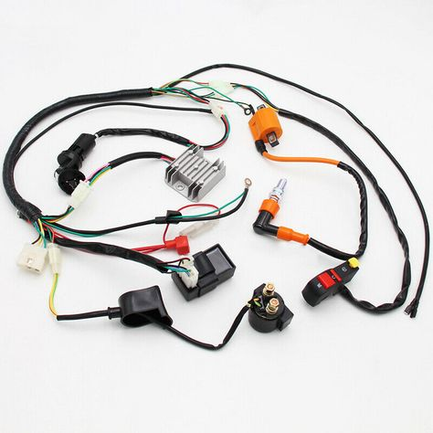 eBay Advertit) Complete Motorcycle CDI Coil Loom For ... on