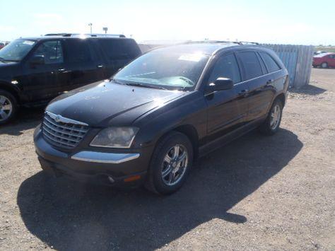 Auction 2004 Chrysler Pacifica 3 5l 6 Vin No 2c8gm68414r558303