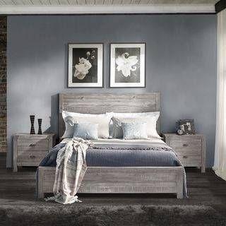 driftwood bedroom furniture panel bed