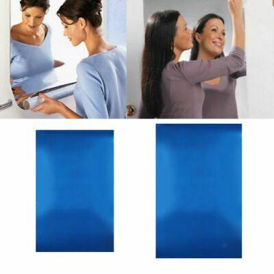 1 Roll Mirror Tile Wall Stickers Room Decor Makeup Mirrors Bedroom Bathroom