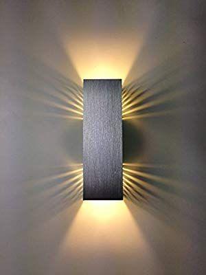 Spiceled Wandleuchte Shineled 14 2x7w Warmweiss Schatteneffekt High Power Led Wandlampe Dimmbar Amazon De Beleuch Wandverlichting Wandlamp Verlichting
