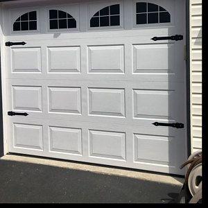 Craftsman Style Faux Garage Door Windows Vinyl Decals No Etsy In 2020 Faux Garage Door Windows White Garage Doors Garage Doors