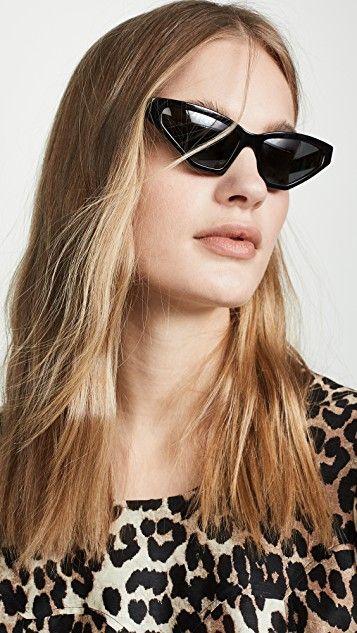 772dfcc51155 PR 12VS Millennial Narrow Cat Eye Sunglasses in 2019 | Sunnies | Cat ...
