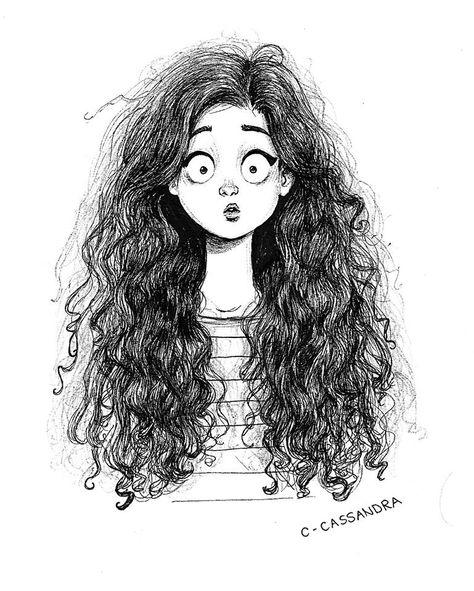 como cuando llueve y tu cabello decide lucir así